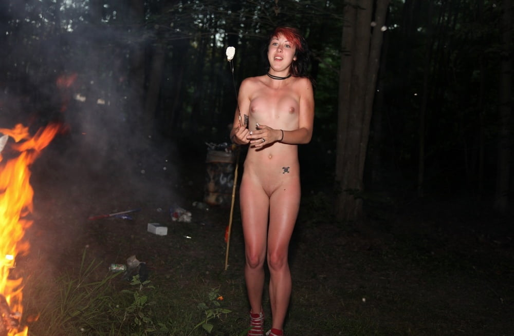 Girl on fire naked dreams