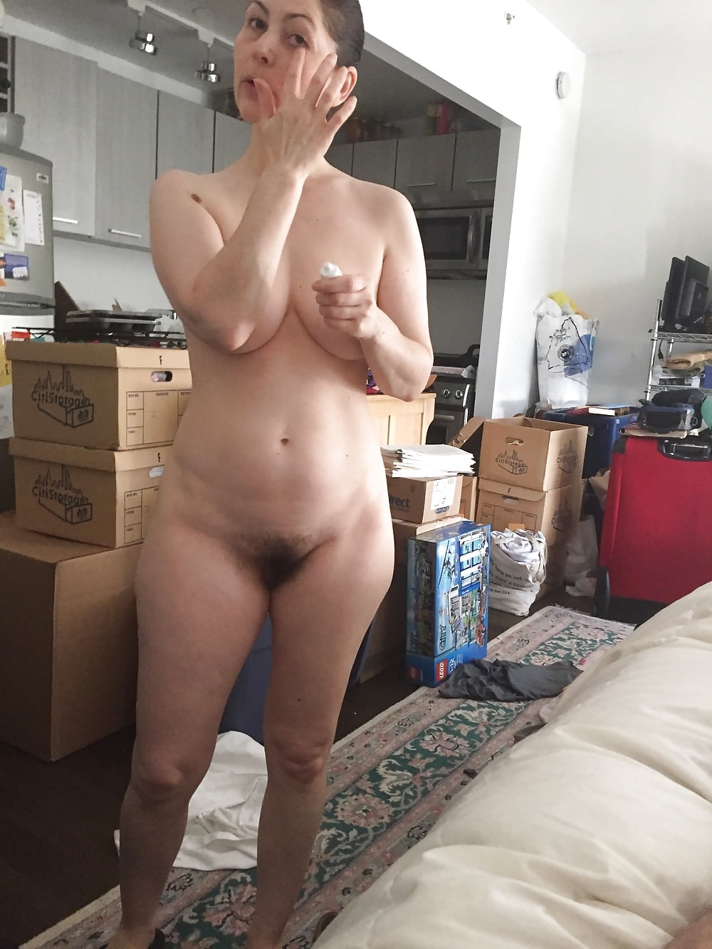 Wives nude selfie — photo 1