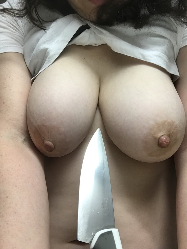 Natural big boobs mature