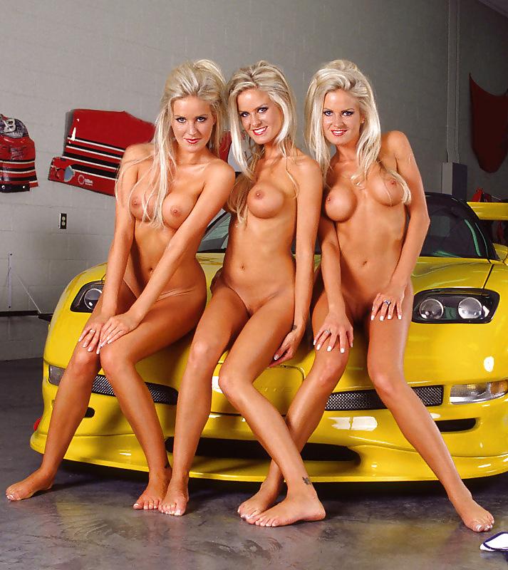Dahm triplets nude in