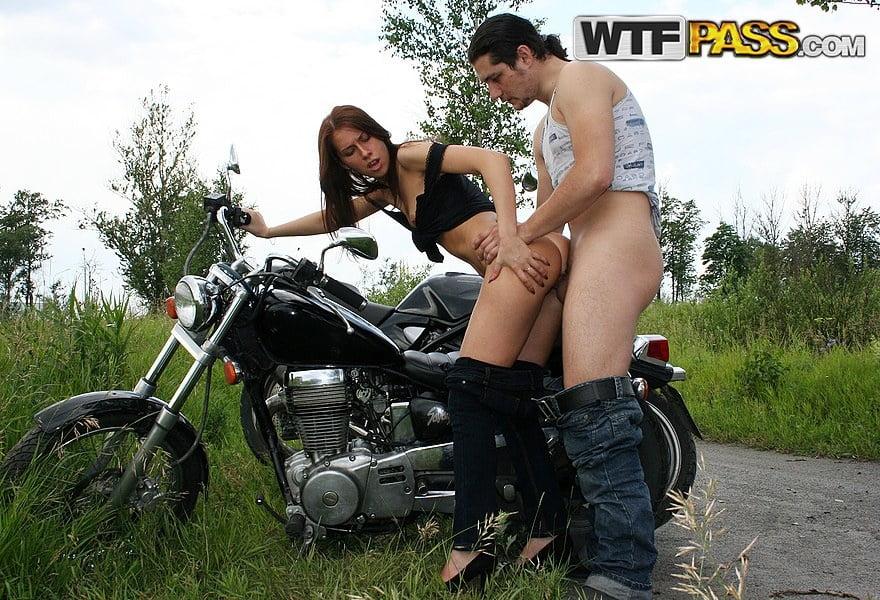 Handjobs on motorcycles, clare grant bikini pics