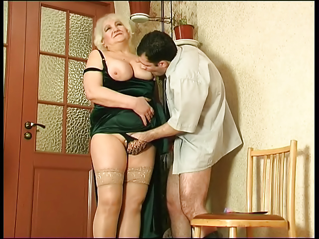 Wife catches her man fucking her mom-5306