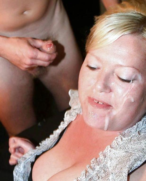 Blonde blow busty