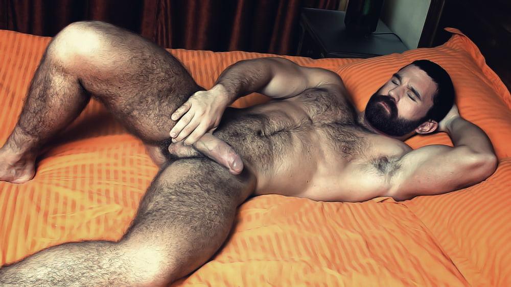 Hairy Stud Jim L Buck Naked Hairy Men L Do
