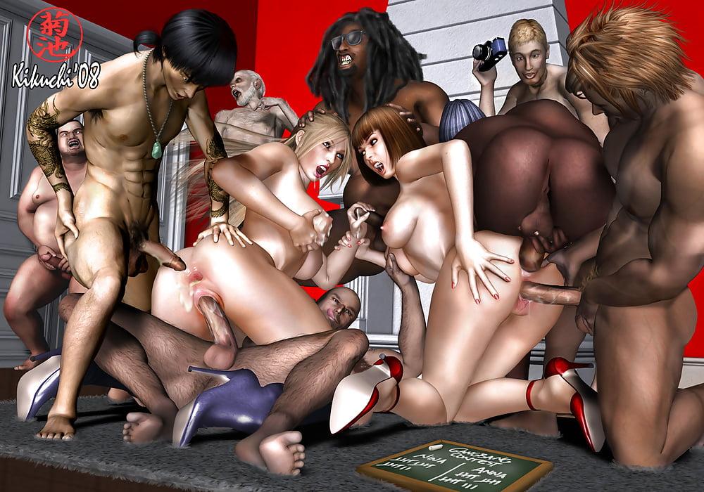 Tekken Girls Fuck Porn