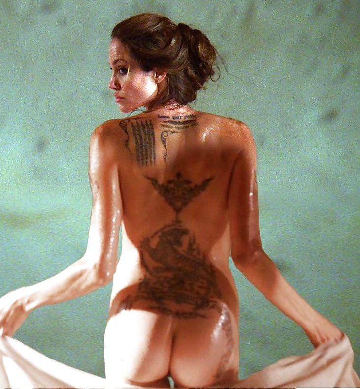 Foxx angelina jolie tattoo naked