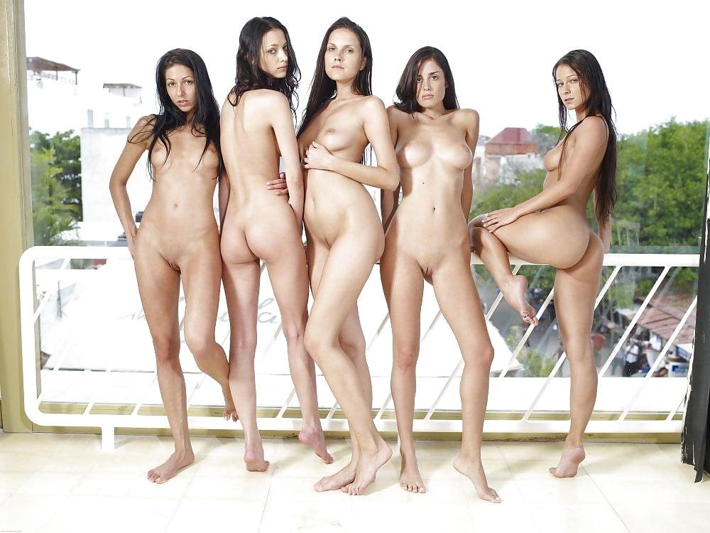 Unique nude group