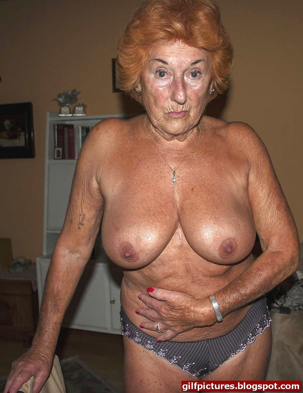 Hottest grandma ever naked — photo 14