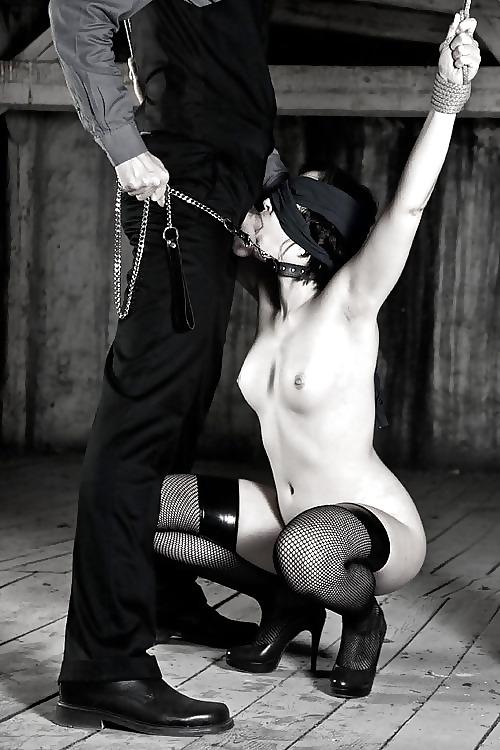 Домашнее эро фото на поводке наказание подчинение 1