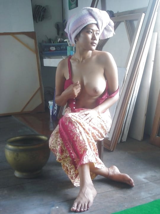 Kebaya busty nude for petite
