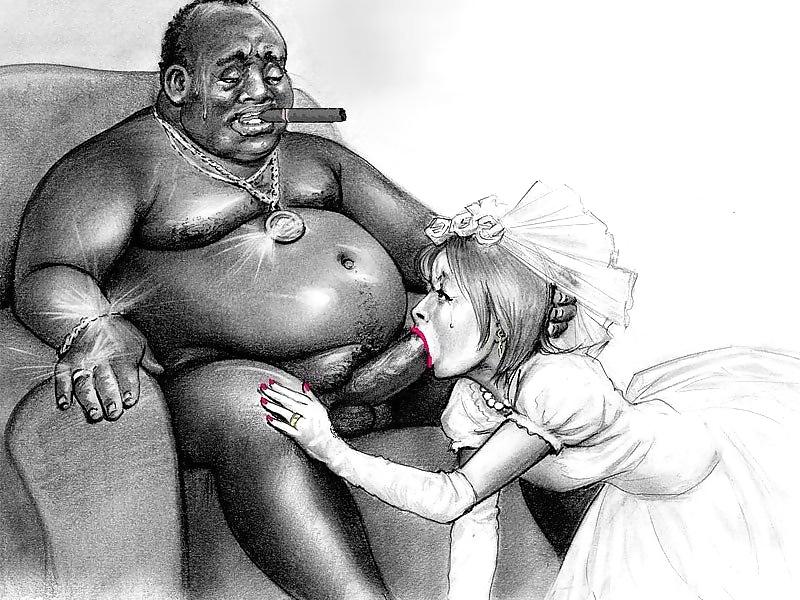 Black Girl Blowing White Guy