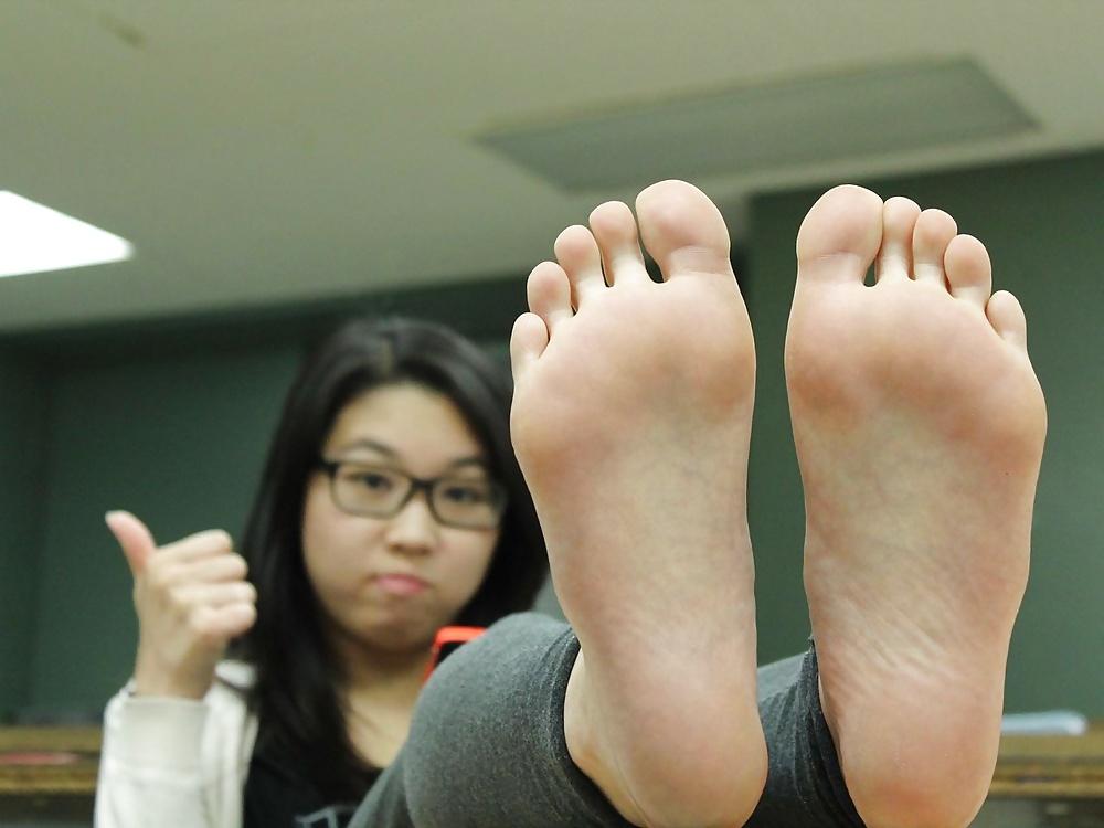 Barefoot asian teens 9