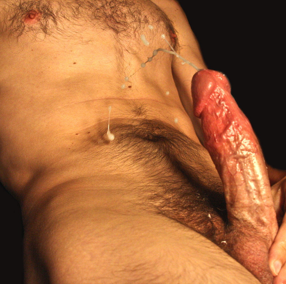 Asian gay male ejaculation