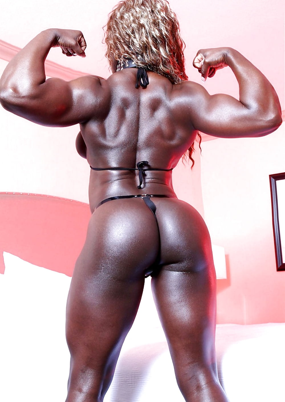 Nude black female muscle mistress, sexy asian girls