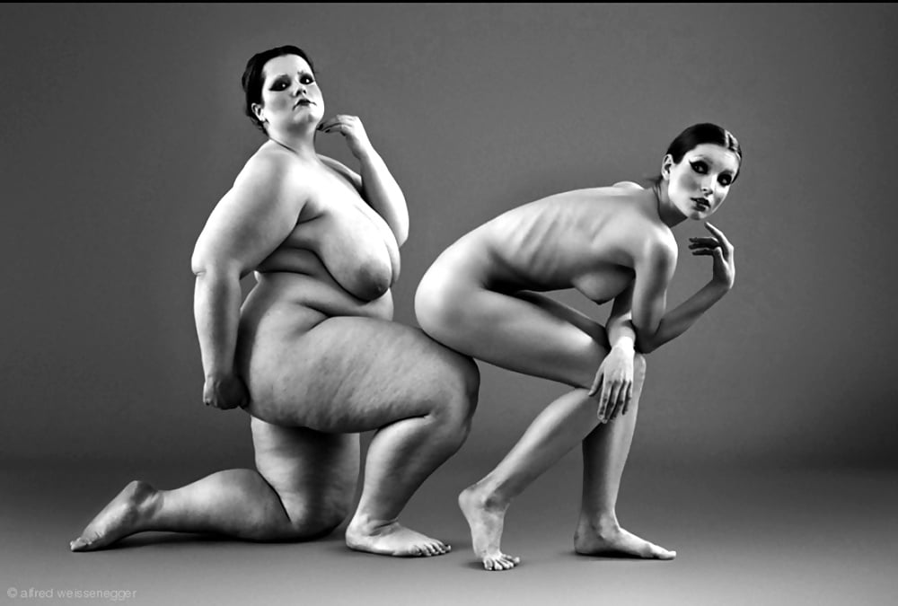 Unusual naked girls