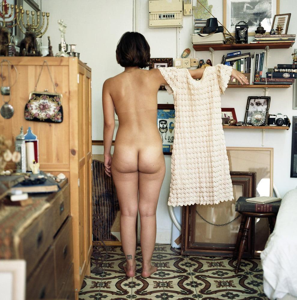 Monstera vintage nude rug