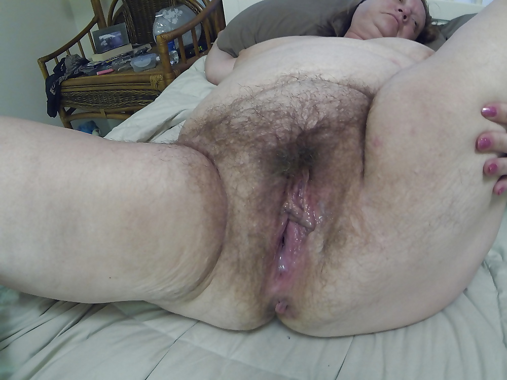 Old fat ugly hairy granny pussy — photo 6