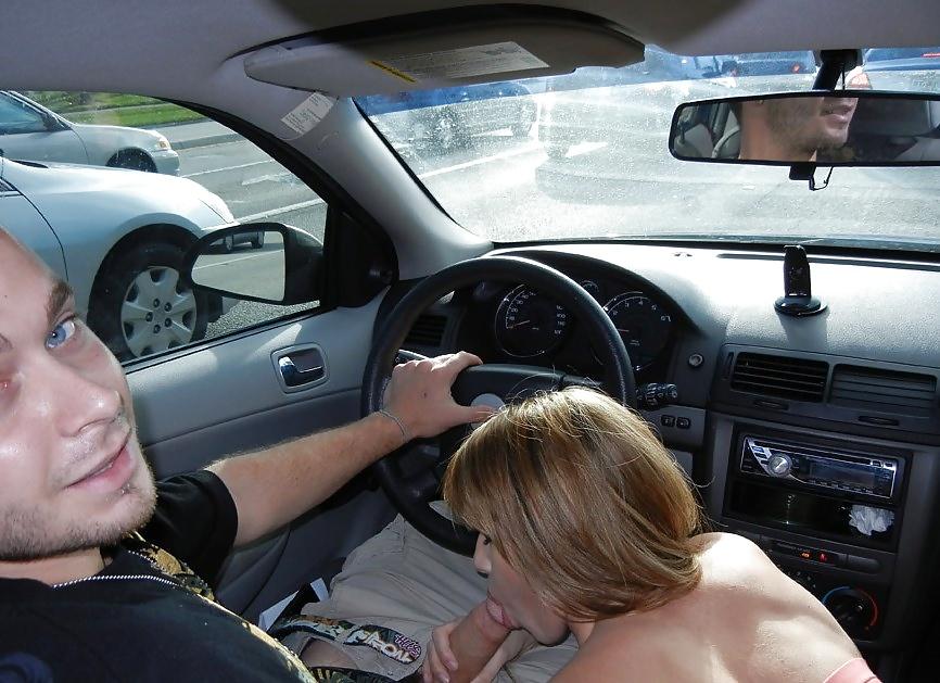 Отсосала за рулем онлайн — 4