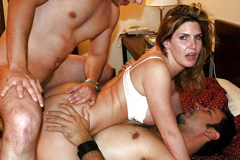 Double penetration orgasm gifs