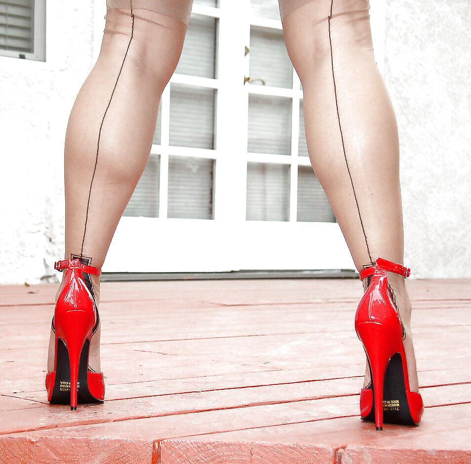 Wife slut high heels