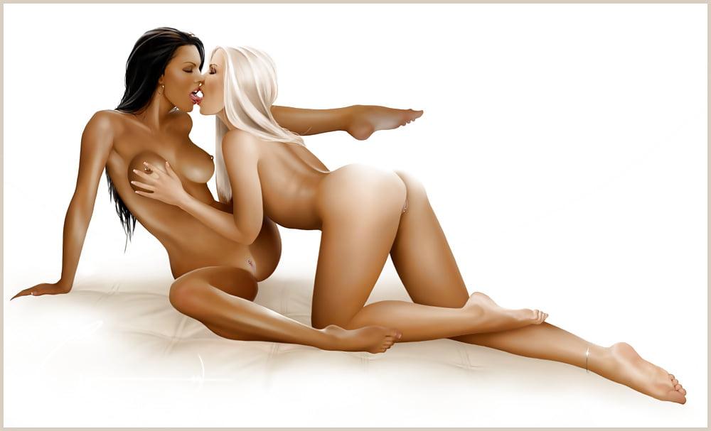 Naked girl arte