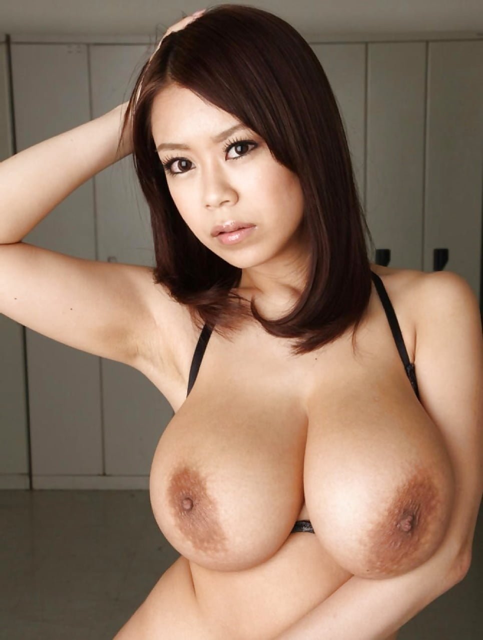 Asian Secretary With Huge Tits
