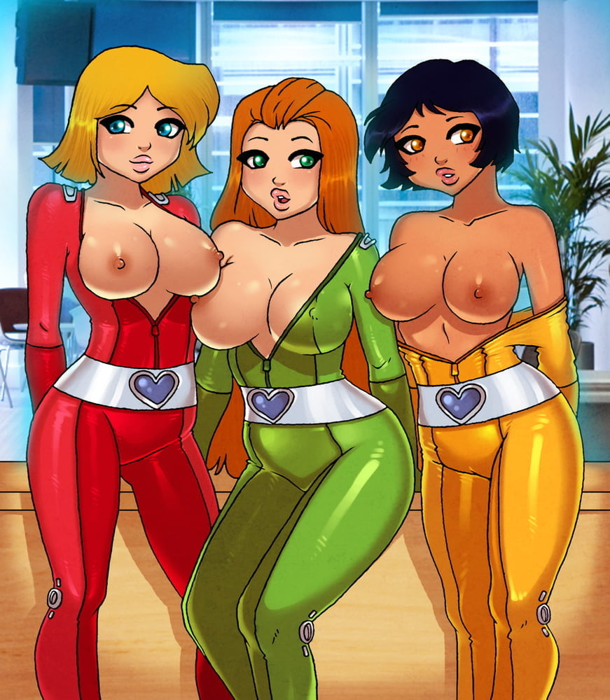 Hentai totally spies sam porn
