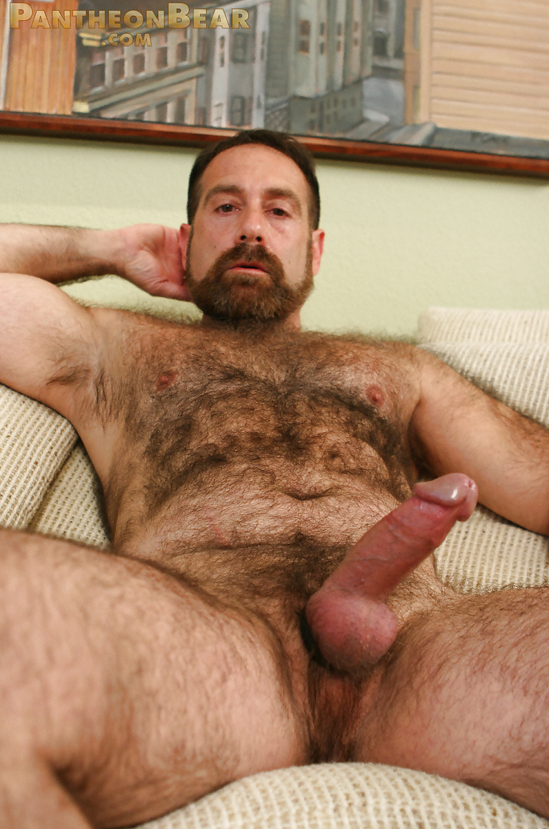 Hairy Muscle Bears Fucking Bareback