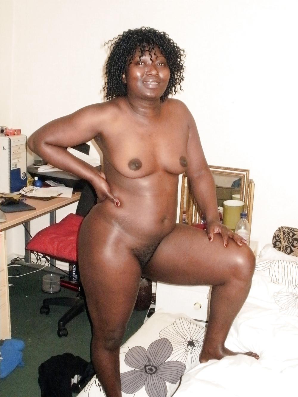 South africa black granny nude selfie