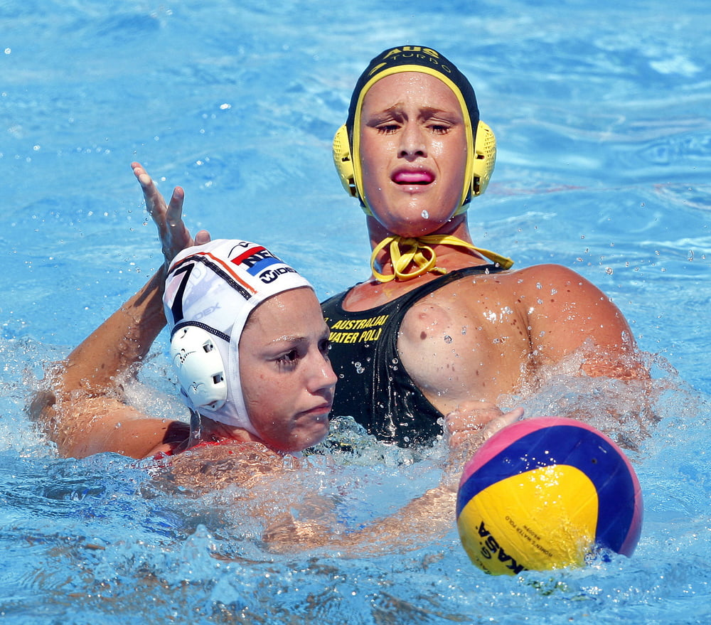 Downblouse Topless Waterpolo Should Be Great