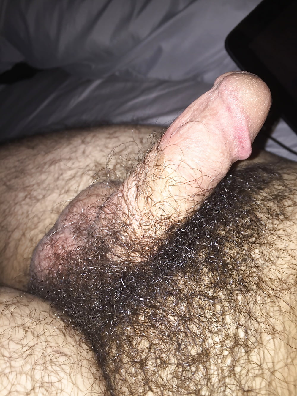 Hair off dick and balls