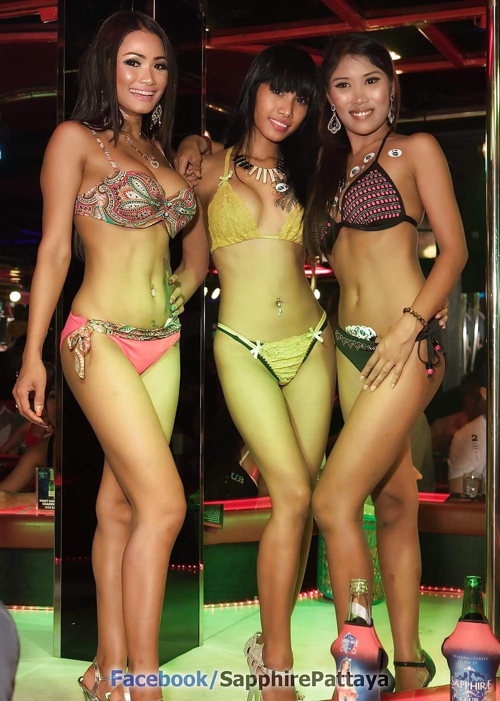 Asian girl bar
