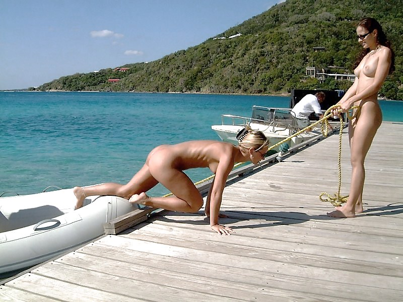 sue-pussy-outside-beach-water-boat-porn