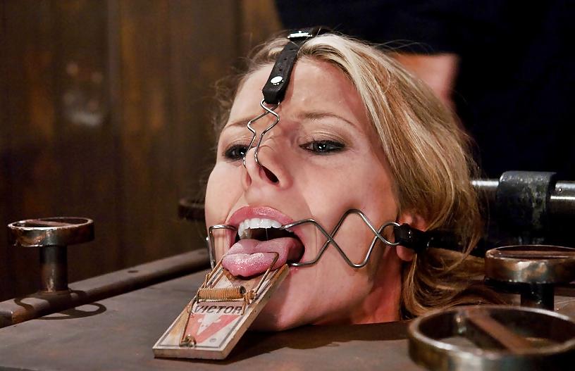 Bondage facial gag