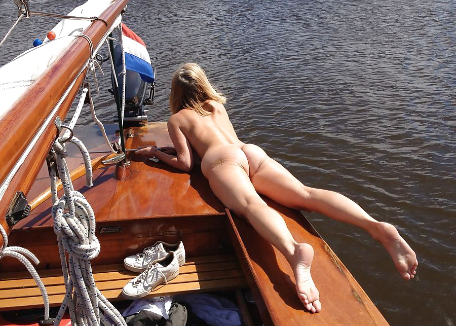 Hot nude girls in bass boats
