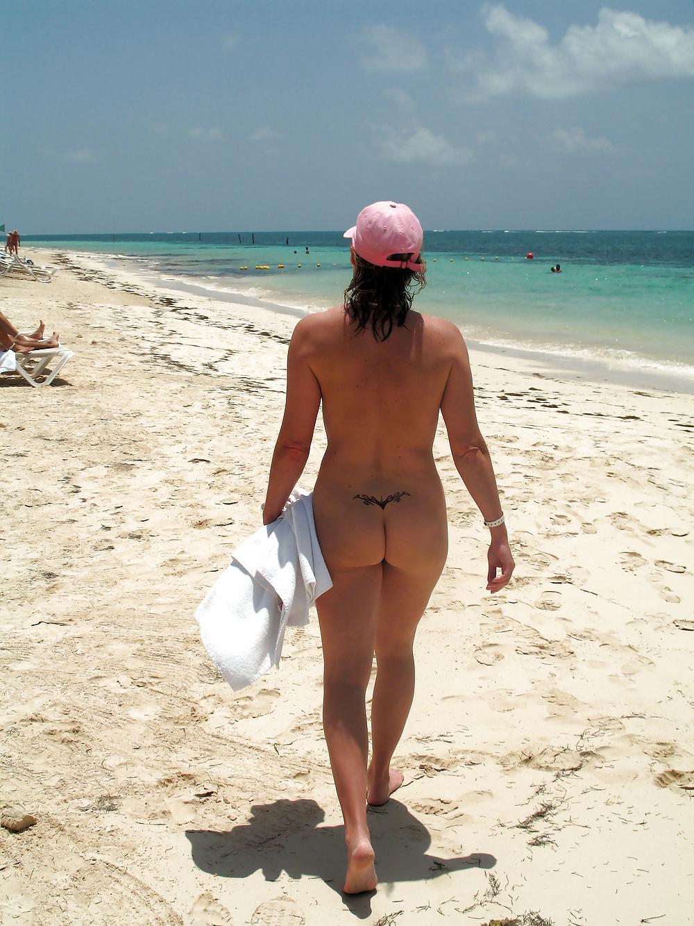 Naturist naked public nude beach nude