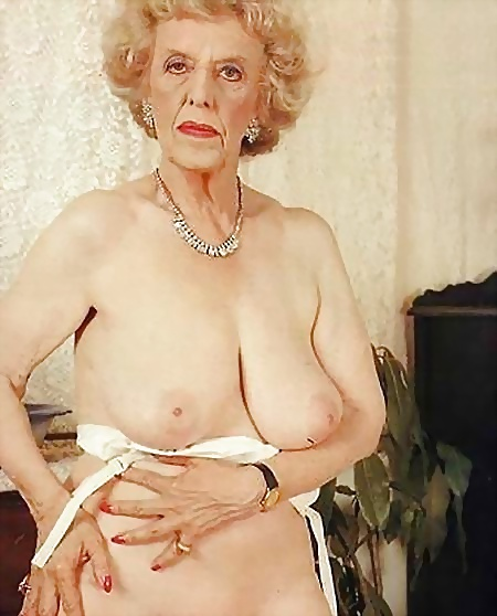 Nude woman over 70