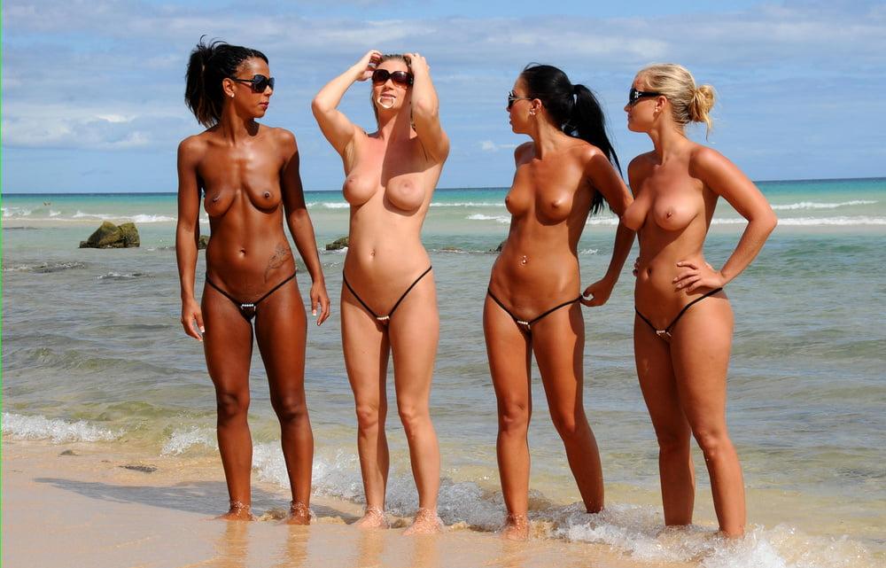 Bikini beach nudes