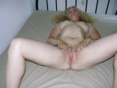 Blonde Milf Waiting For Cock