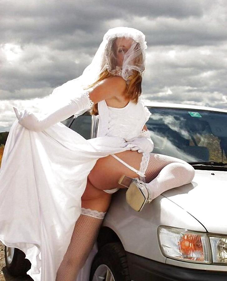 Подглядывание невесты эротика