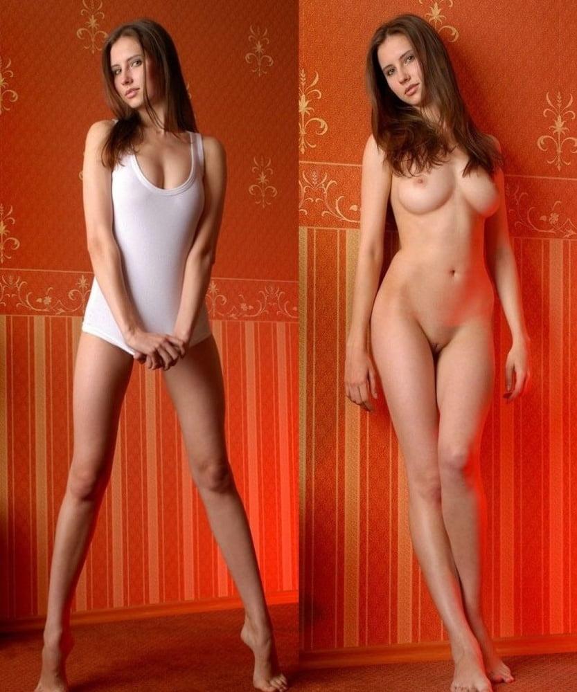 Beautiful nude woman in tall grass