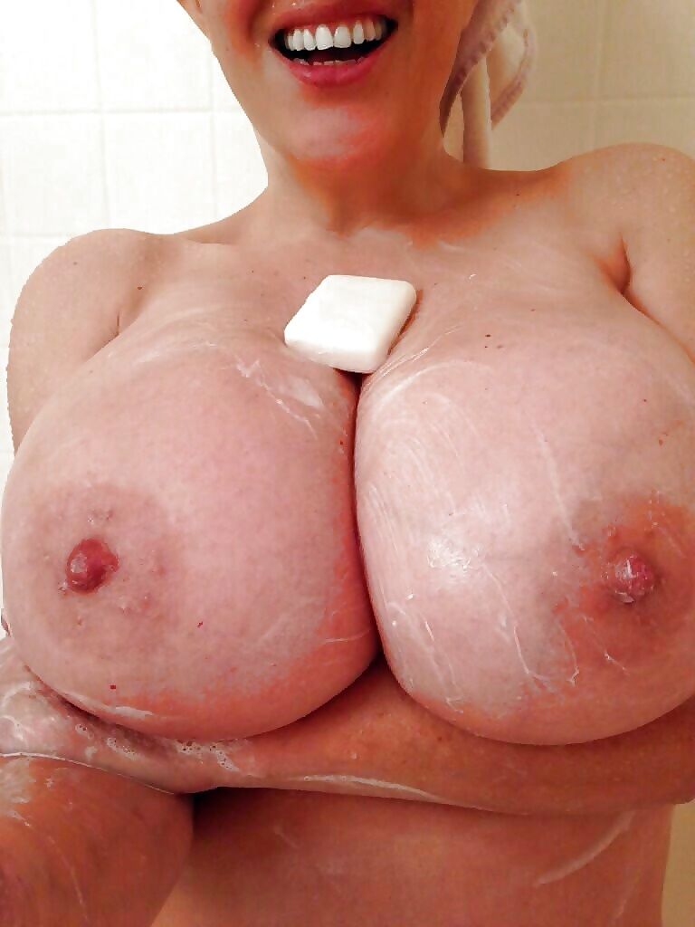 Freya madison gets her big boobs messy