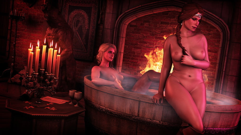 Triss Merigold Gets Naked In These Unbelievable Witcher Cosplay Photos