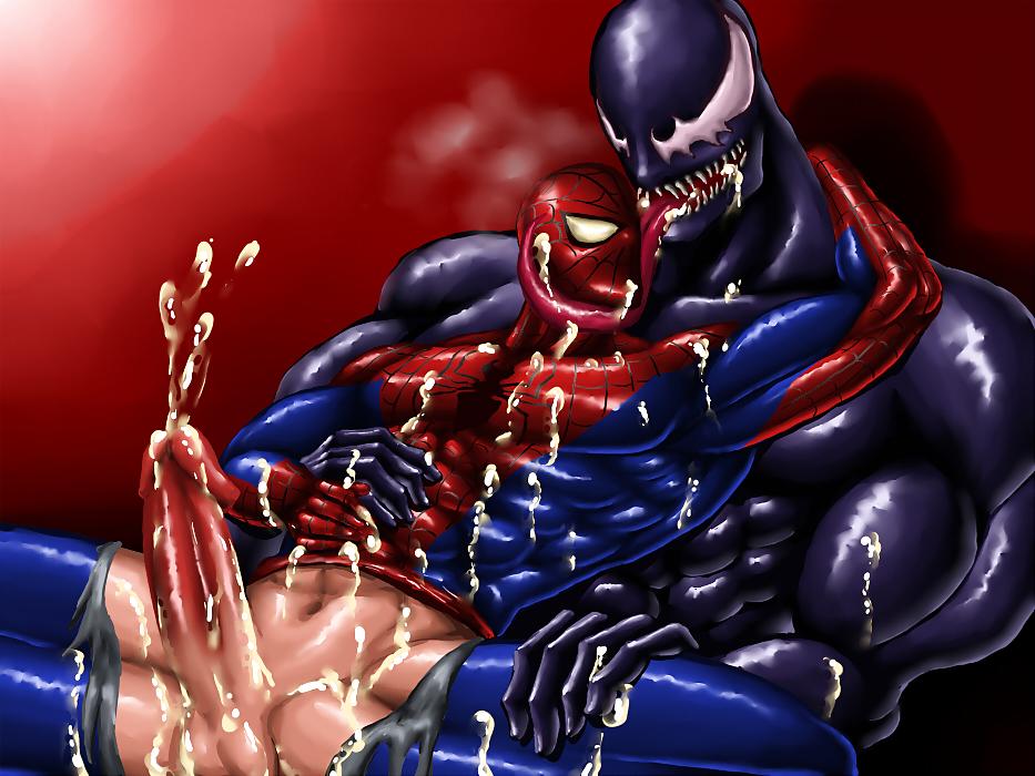 Venom's kiss porn comic