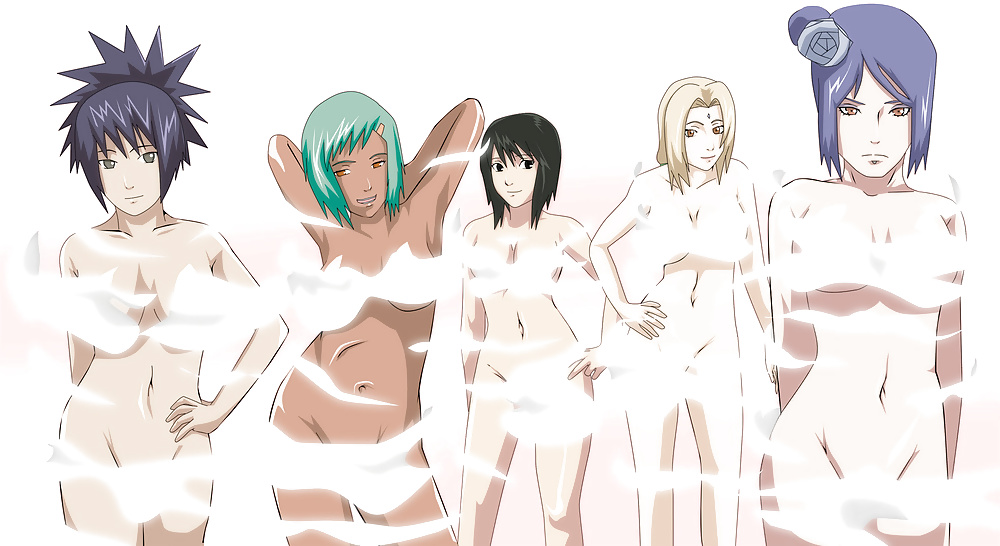 Naruto guys as girls naked evil sexy