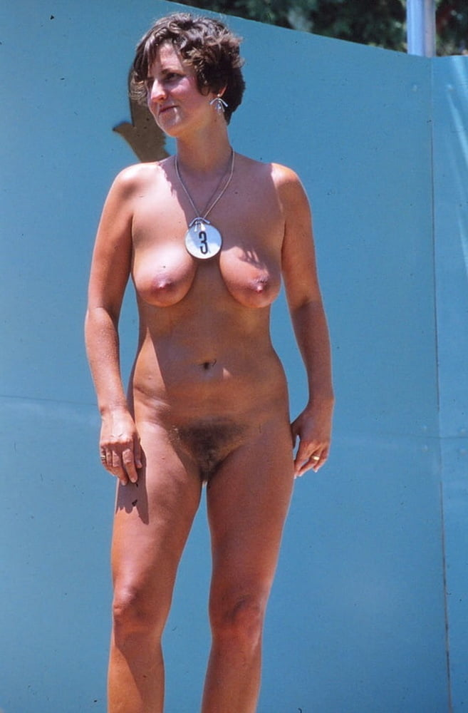 Miss nudist pageant contest