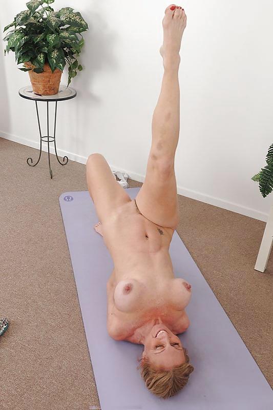 Mature nude yoga girl #7