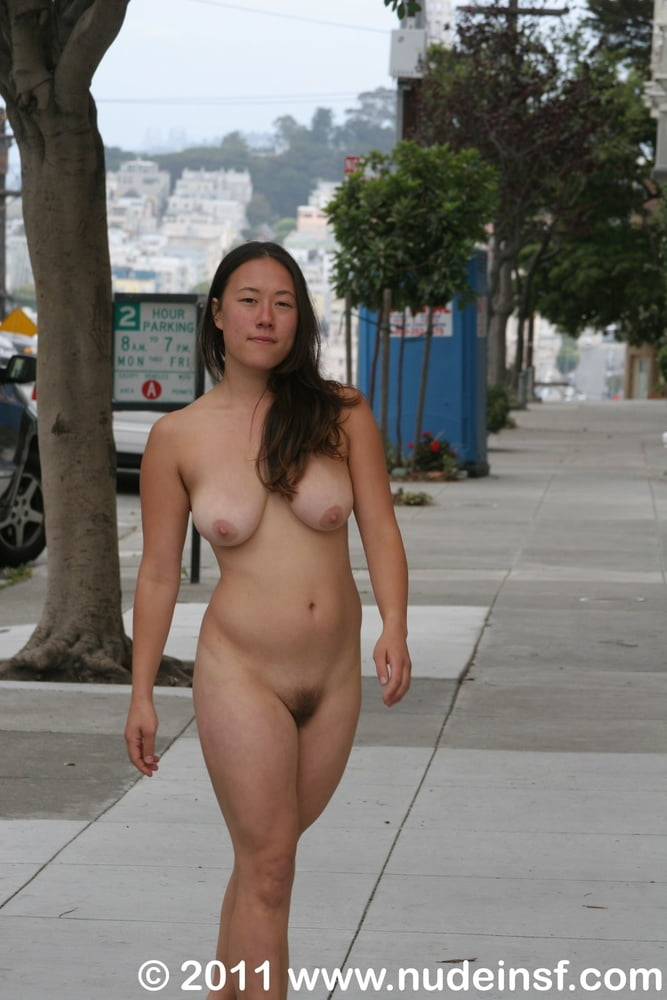 Chinese Milf Nude In Public