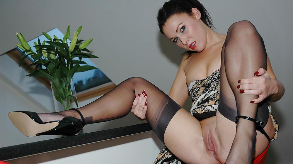 Free stocking tease porn galery