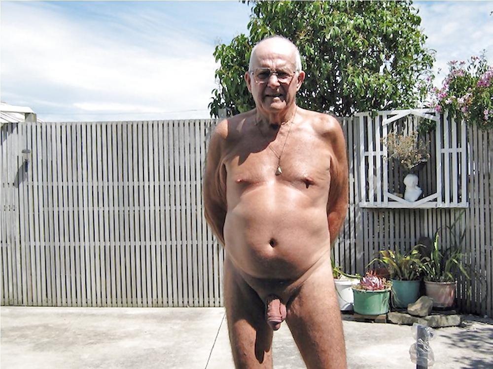 Old Grandpa Naked